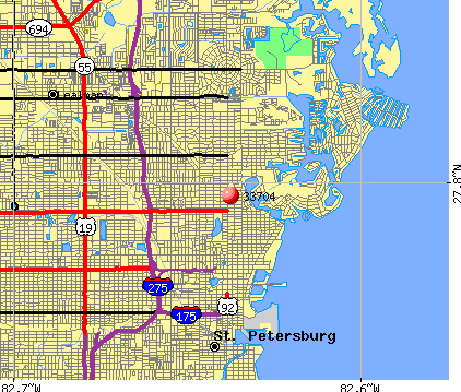 33704 Zip Code St Petersburg Florida Profile homes