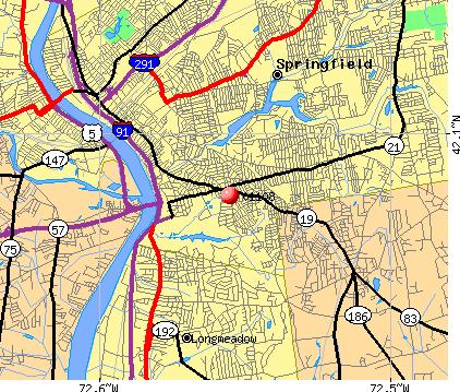 01108 Zip Code Springfield Massachusetts Profile