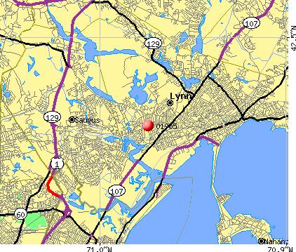 Lynn Ma Zip Code Map Zip Code MAP