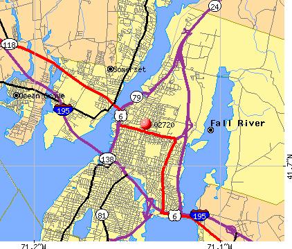 Fall River Ma Zip Code Map Zip Code MAP