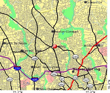 20902 Zip Code Wheaton Maryland Profile  homes