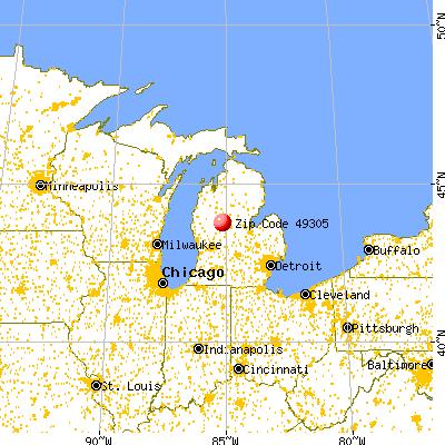 49305 Zip Code Barryton Michigan Profile Homes