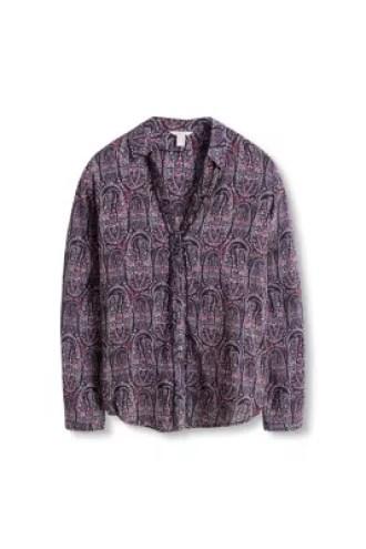 Esprit / Camicia fluente in stile paisley