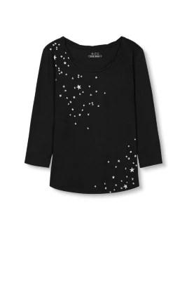 EDC / Shirt van zacht katoen-modal