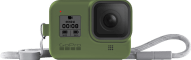 GOPRO Sleeve and Lanyard for Hero 8 Green