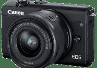 CANON EOS M200 Kit με φακό EF-M 15-45mm f/3.5-6.3 IS STM Black