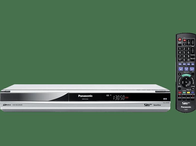 PANASONIC DVD Recorder PANASONIC DMR-EH545 silber DVD