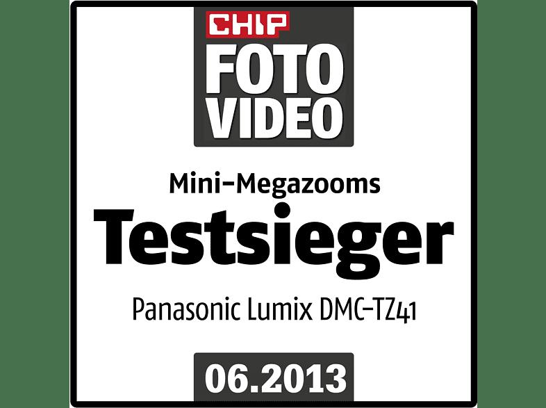PANASONIC PANASONIC DMC-TZ 41 Kompaktkamera Rot, 16.7
