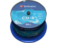 VERBATIM CD-R Extra Protection 50τεμ.- (43351)