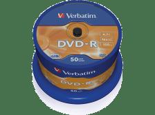 VERBATIM DVD-R Matt Silver 50 τεμ. - (43548)