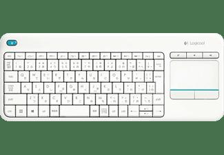 LOGITECH Wireless Touch Keyboard K400 Plus, weiß (920