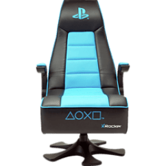 X Rocker Gaming Chair Ikea Removable Covers Xrocker Infinity Playstation Design Stuhl - Schwarz/blau Online Kaufen | Saturn