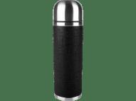 TEFAL Ισοθερμικό Ανοξείδωτο Δοχείο Senator με λαβή από σιλικόνη 1L Μαύρο K30644