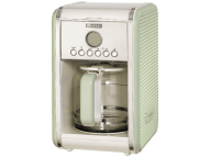 ARIETE 1342/04 Coffee Maker Green Vintage