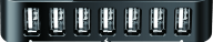 D-LINK 7-Port USB 2 Hub - (DUB-H7)