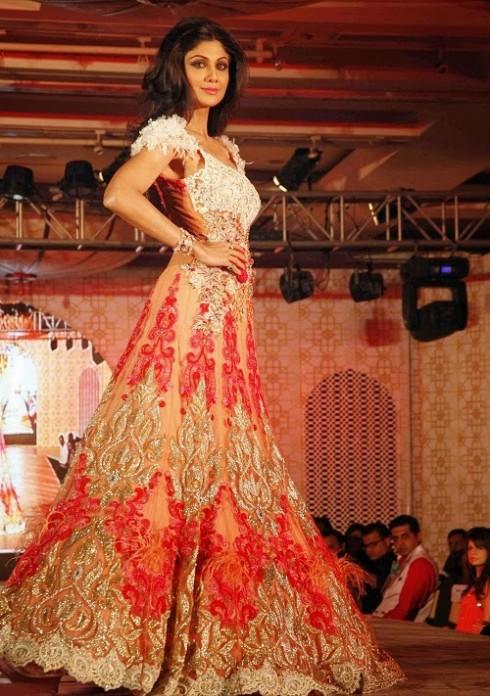Fashion Glamour World Shilpa Shetty Show Stopper For