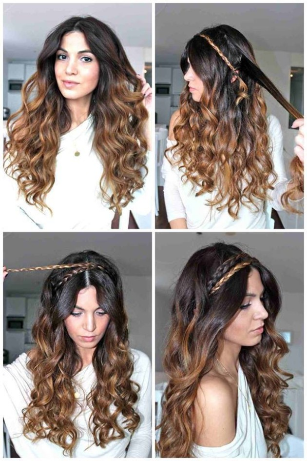 New Stylish & Beautiful Women Girls Best Hairstyles 2015 Fashion