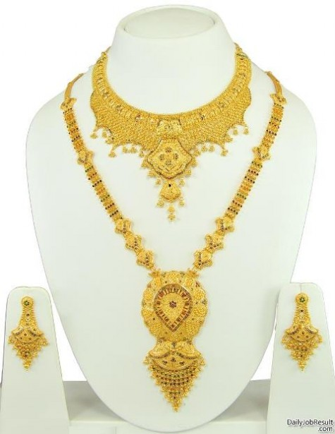 Most Popular Jewelry Fashion Gold Jewellery Designs