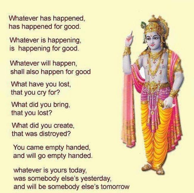 Lord Krishna Quotes Custom Shri Krishna Geeta Saar & Inspirational Quotes Collections Must