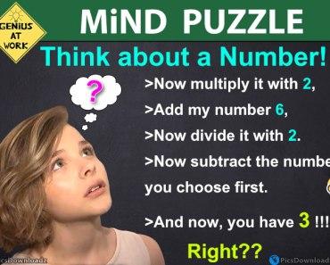 Mind Reading Puzzles Tricks