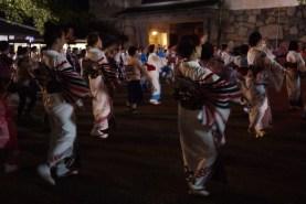 Bon Odori danse, Nagoya, Japan.