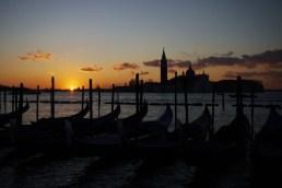 At dawn, Venice, Italy.