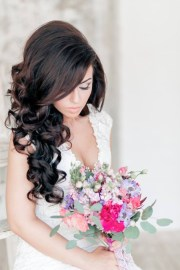 stylish bridal-wedding hairstyle