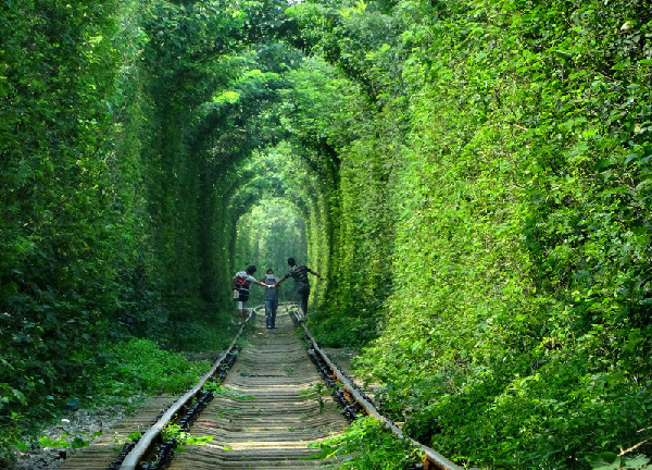 beautiful-photos-of-friends-group-in-tunnel-of-love-in-kleven-ukraine
