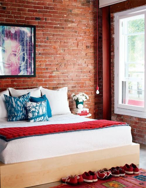 Inspiration de chambres style loft
