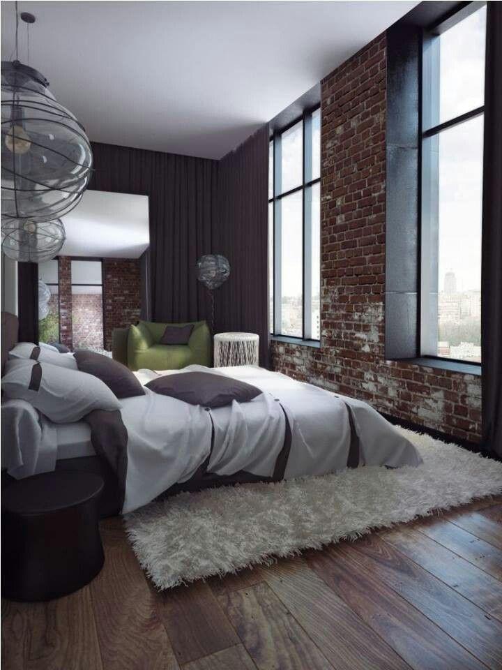 Inspiration de chambres style loft  Picslovin