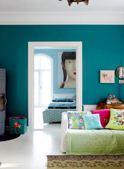 Inspiration chambre bleu