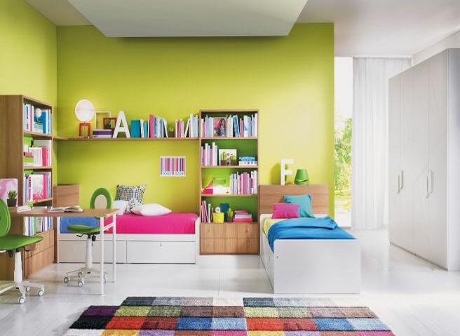 Inspirations dco de chambres mixtes pour enfants