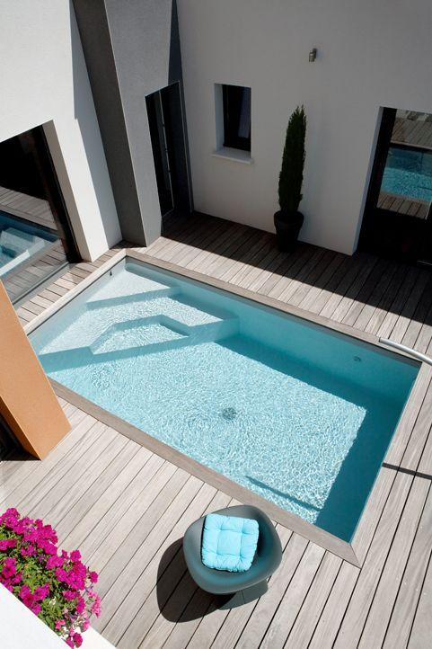 Ides pour amnager une piscine dans un petit espace  Picslovin