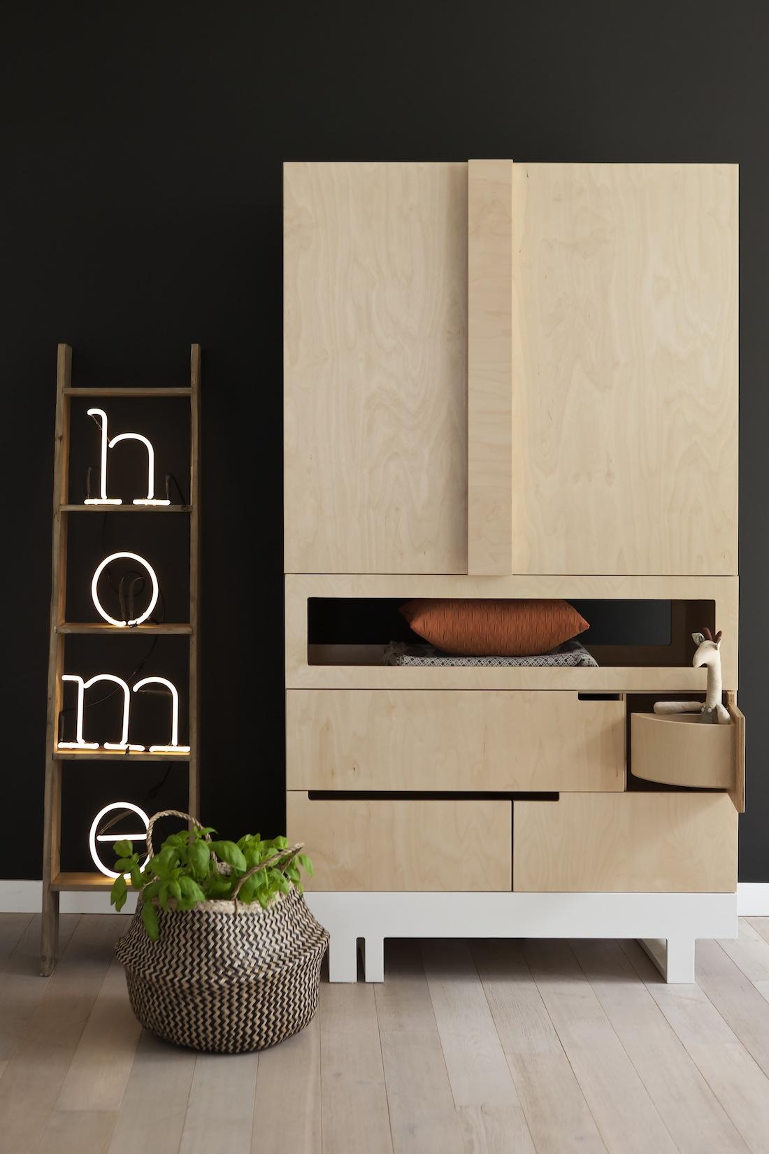 Mobilier Cologique Au Design Minimaliste Dans Une Chambre
