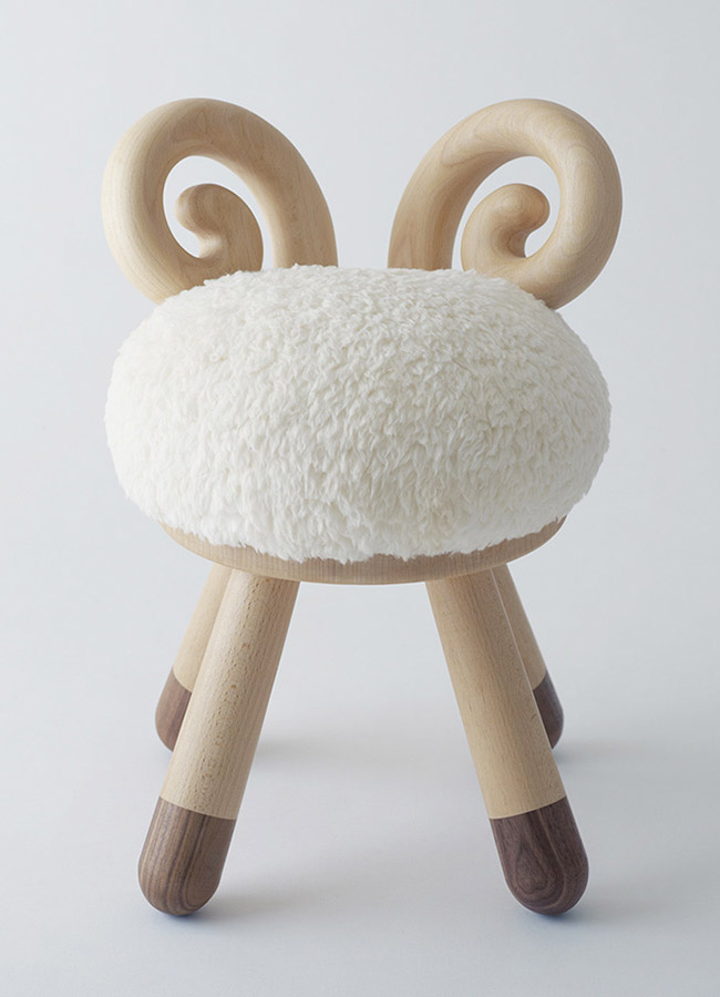 Upholstered Toddler Chair