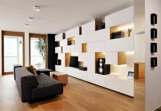 Inspirations autour du meuble besta d'IKEA