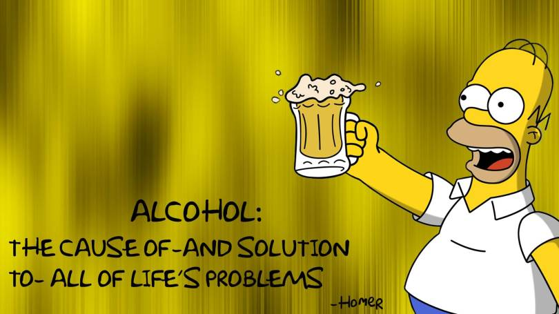 alcohol-the-cause-of-and-solution-to-all-of-life-s-problems funny alcohol quotes