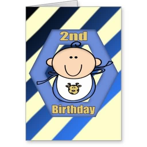 2nd Birthday Baby Boy Wishes