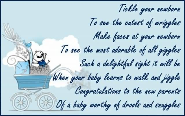 Awesome Birthday Message For Baby Boy