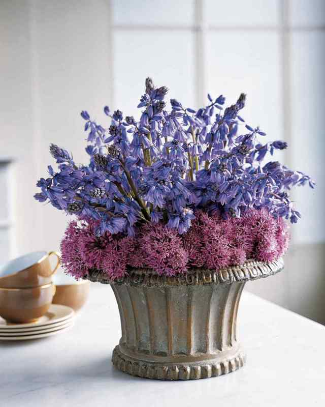 Awesome Bluebell Flower Bouquet For Home Decoration
