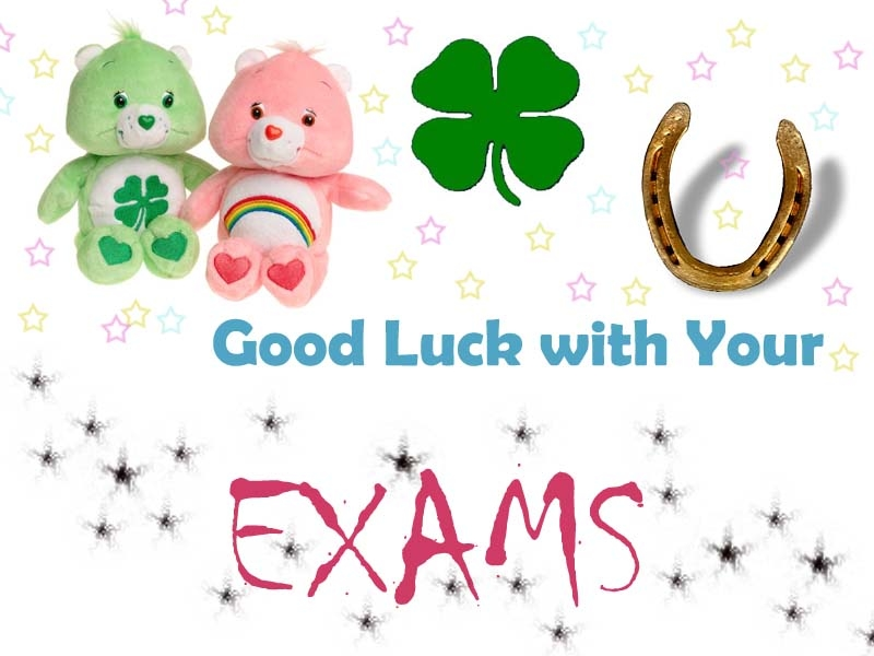 Awesome Good Luck With Your Exams Image