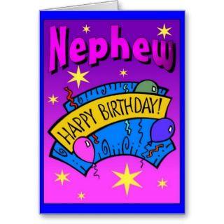 Awesome Happy Birthday Nephew Greeting Card