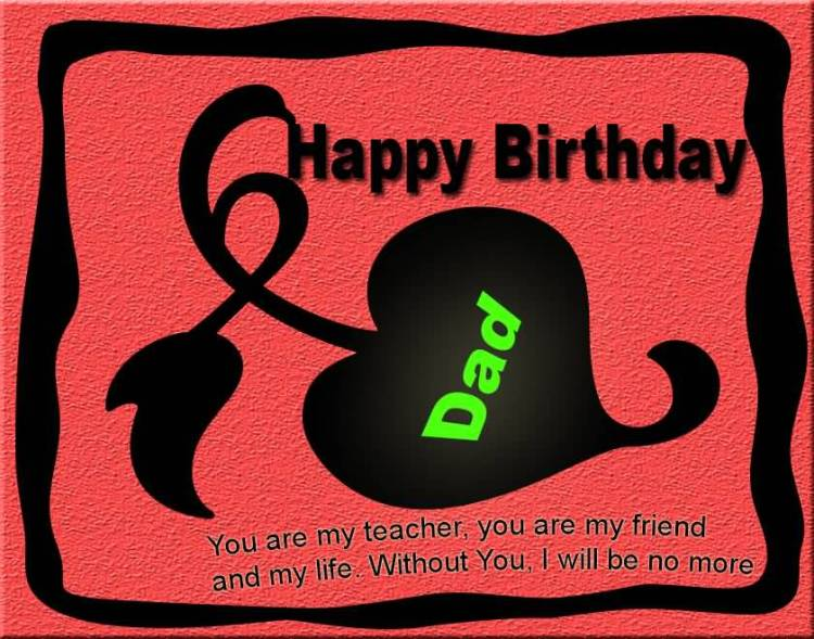 Awesome Happy Birthday Wishes To Dad Image