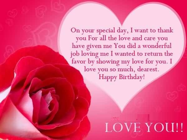 Quotes About Caring For Someone Special: 40 Someone Special Birthday Wishes, Photos & ECards