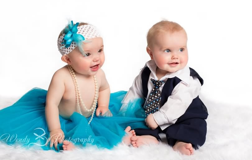 Babies Couple Hd Wallpaper