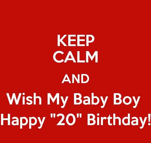 Beautiful Birthday Greetings For Cute Little Baby Boy