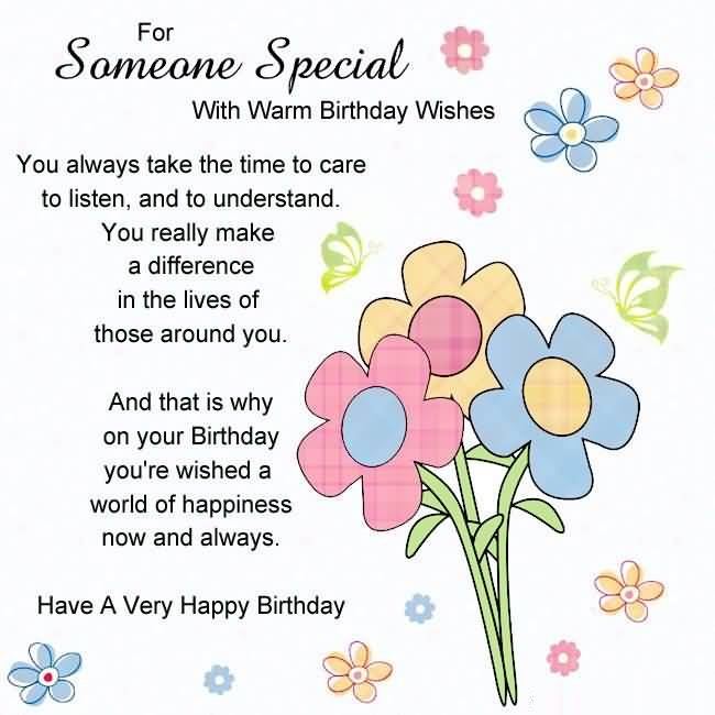 Image result for happy birthday to someone special