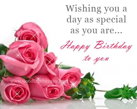 Best Birthday Wishes For Someone Special – Special Birthday Greeting