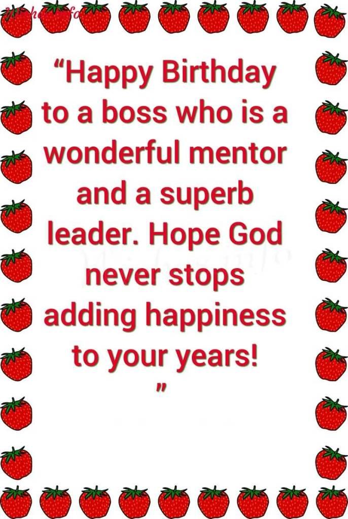 Happy Birthday Quotes Boss ~ Best boss birthday greetings image wallpaper meme