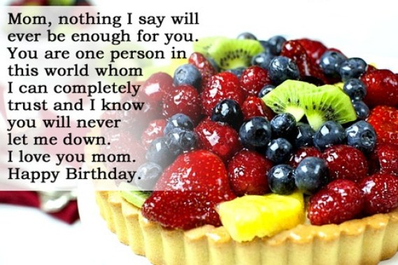 Birthday Quotes For Mom Birthday Image